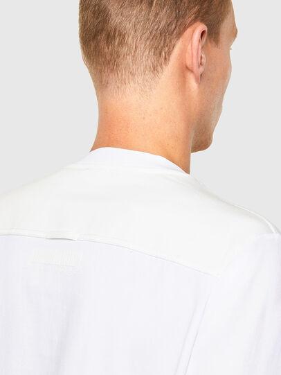 Diesel - T-TASK-LS, White - T-Shirts - Image 4