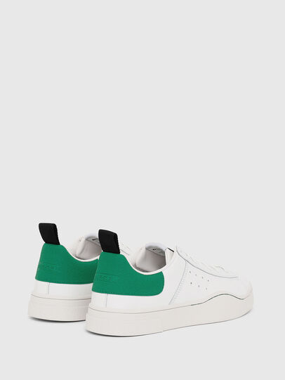 Diesel - S-CLEVER LOW, White/Green - Sneakers - Image 3