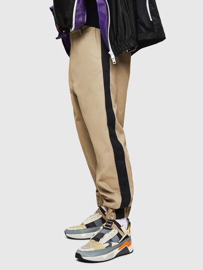 Diesel - P-LEV, Light Brown - Pants - Image 5