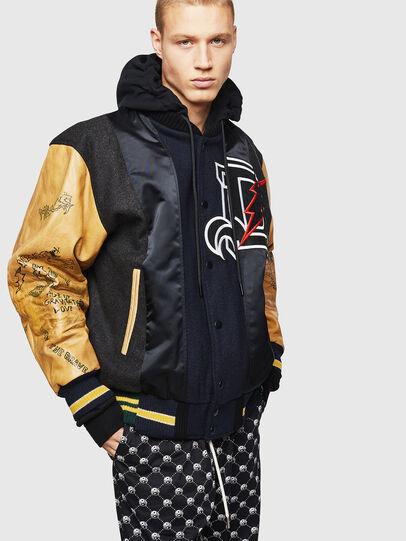 Diesel - L-ANTON,  - Leather jackets - Image 8