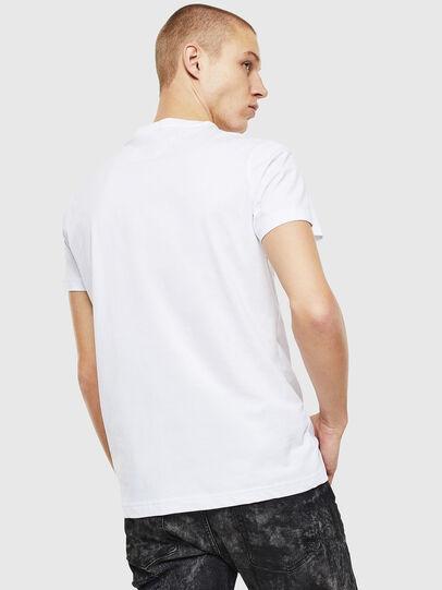 Diesel - T-DIEGO-J12, White/Black - T-Shirts - Image 2