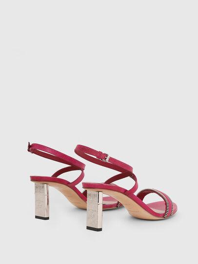Diesel - SA-LEZIPPO PL, Pink - Sandals - Image 3