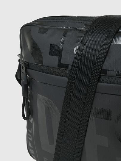 Diesel - X-BOLD DOUBLE CROSS, Black - Crossbody Bags - Image 5