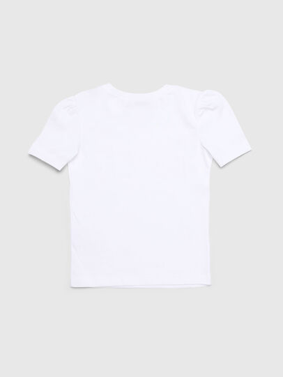 Diesel - TRALLYB-R, White - T-shirts and Tops - Image 2