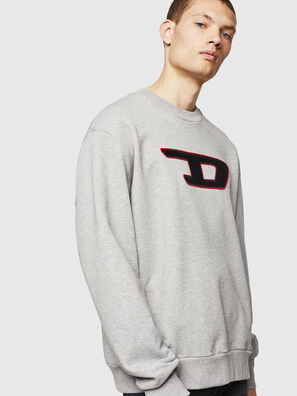 S-CREW-DIVISION-D, Light Grey - Sweaters