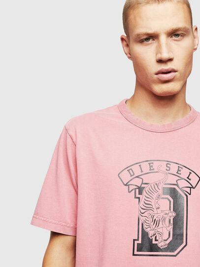 Diesel - T-JUST-B2, Pink - T-Shirts - Image 3