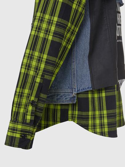 Diesel - J-RUBEN, Green/Black - Jackets - Image 5