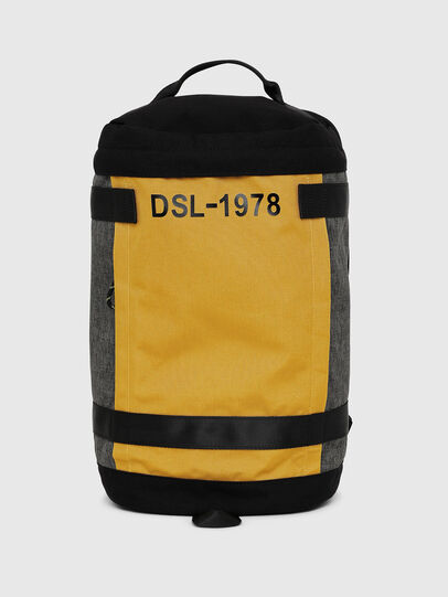 Diesel - PIEVE, Black/Yellow - Backpacks - Image 1