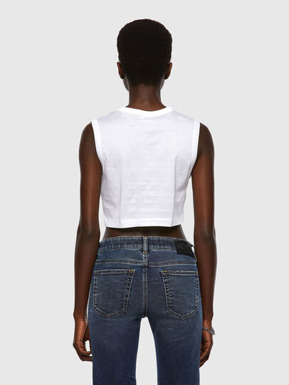 Diesel - T-WELL, White - T-Shirts - Image 2