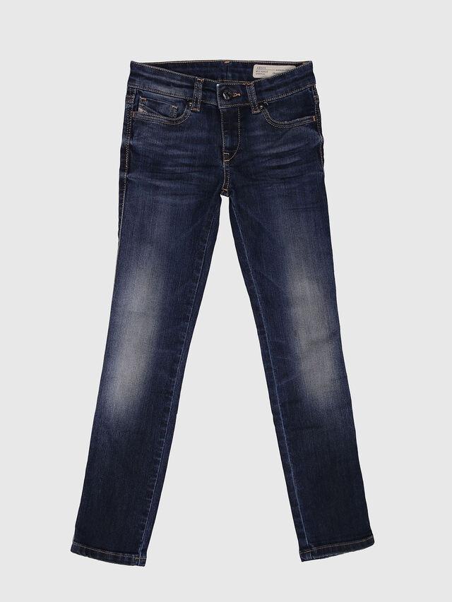 KIDS SKINZEE-LOW-J-N, Dark Blue - Jeans - Image 1