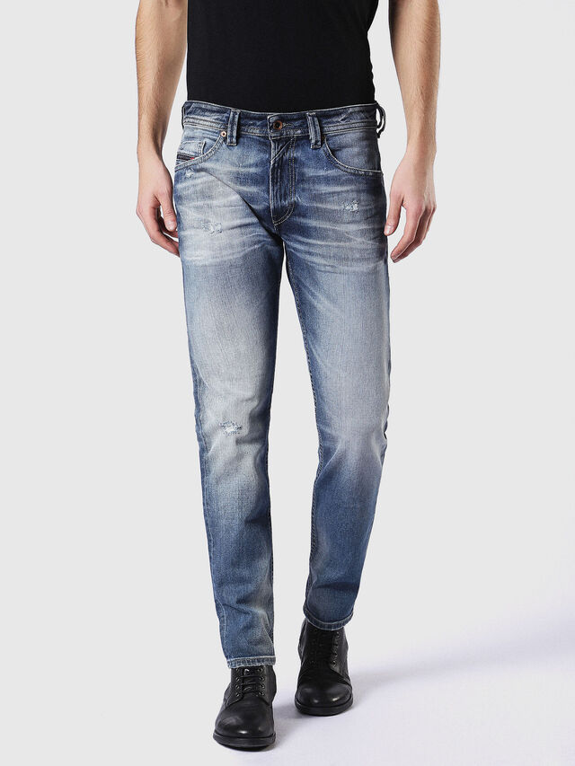Diesel Thommer 084DD, Medium blue - Jeans - Image 2