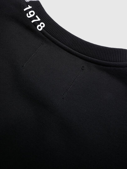 Diesel - UFLT-FELPH-R, Black - Sweaters - Image 4