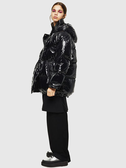 Diesel - W-ALLA, Black - Winter Jackets - Image 6