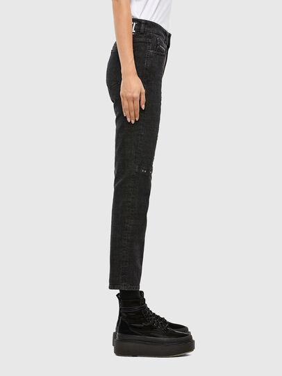 Diesel - D-Joy JoggJeans 009KY, Black/Dark grey - Jeans - Image 4