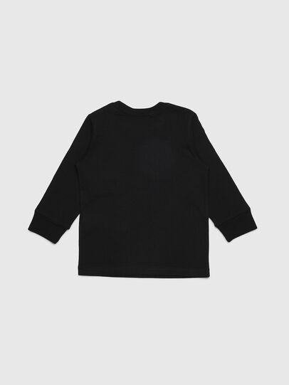 Diesel - TDIEGOYHB-ML-R, Black - T-shirts and Tops - Image 2