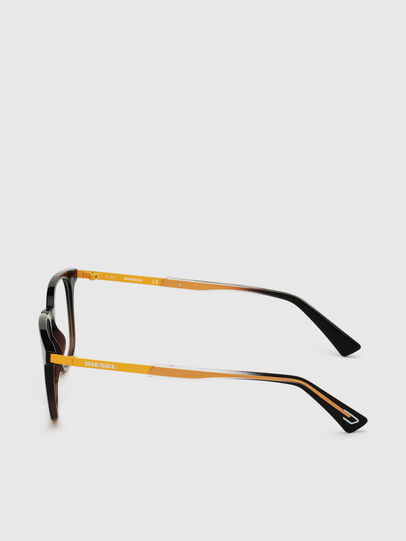 Diesel - DL5349, Black/Yellow - Eyeglasses - Image 3
