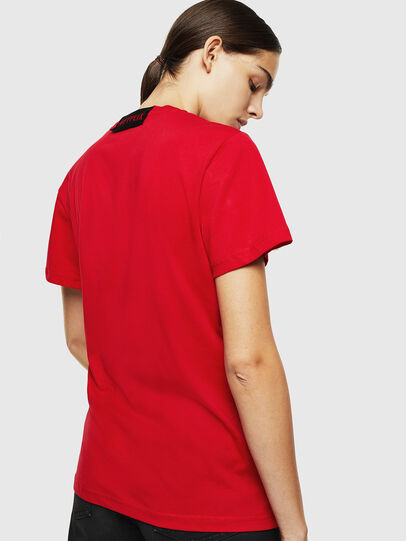 Diesel - LCP-T-DIEGO-RIO, Red - T-Shirts - Image 4