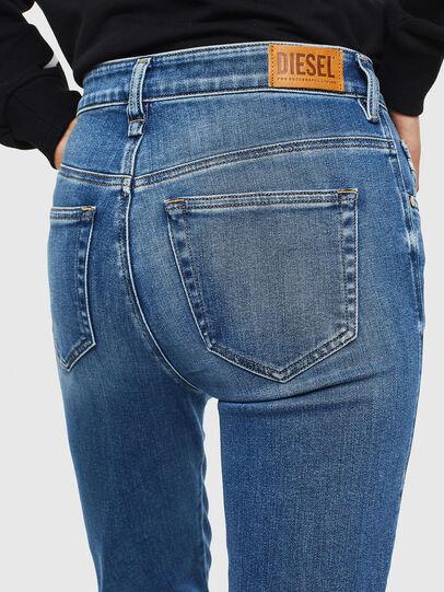 Diesel - Slandy High 009AG, Medium blue - Jeans - Image 5