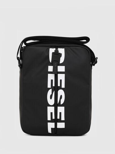 Diesel - F-BOLD SMALL CROSS, Black - Crossbody Bags - Image 1