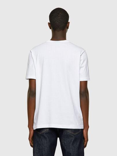 Diesel - T-JUST-INLOGO, White - T-Shirts - Image 2