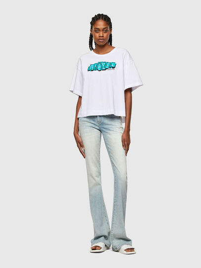 Diesel - T-BOWLESS-A1, White - T-Shirts - Image 4