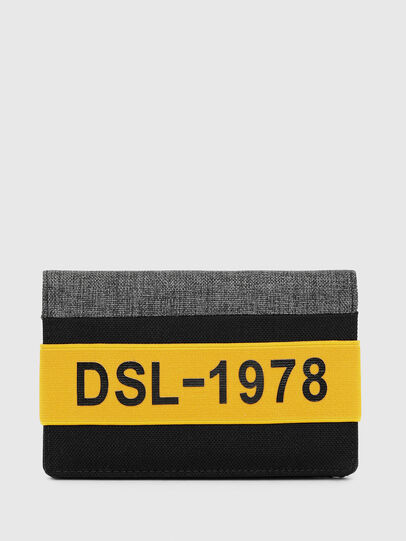 Diesel - ORGANIESEL, Black/Yellow - Small Wallets - Image 1