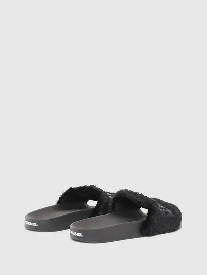 Diesel - SA-VALLA R W, Black - Slippers - Image 3
