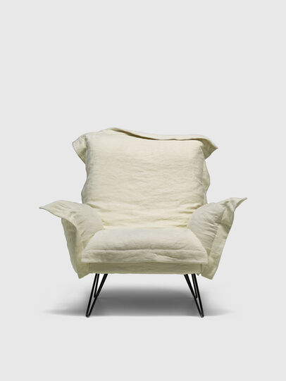 Diesel - DL0F55 CLOUDSCAPE, White - Armchairs - Image 1