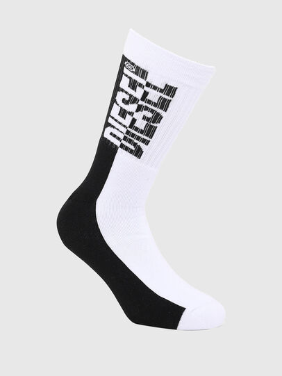 Diesel - SKM-RAY, Black/White - Socks - Image 1
