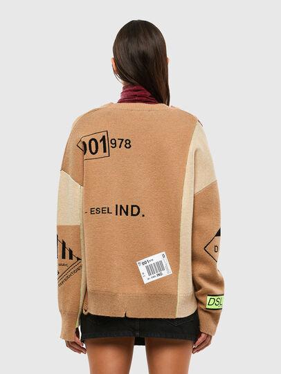 Diesel - M-ALYCIA, Beige - Knitwear - Image 2