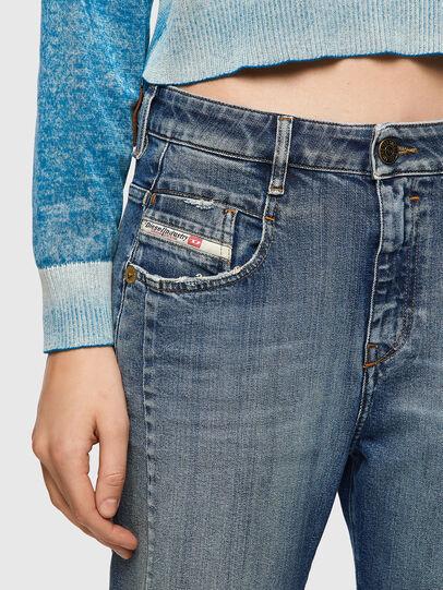 Diesel - Fayza 09A08, Medium blue - Jeans - Image 4