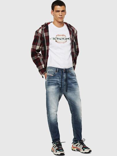 Diesel - D-Vider JoggJeans 069IP, Medium blue - Jeans - Image 5