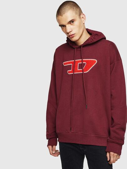 Diesel - S-DIVISION-D, Bordeaux - Sweaters - Image 1