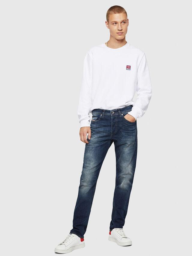 Diesel - Buster 0853R, Dark Blue - Jeans - Image 5