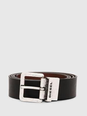 B-DOUCKLE II, Black/Brown - Belts