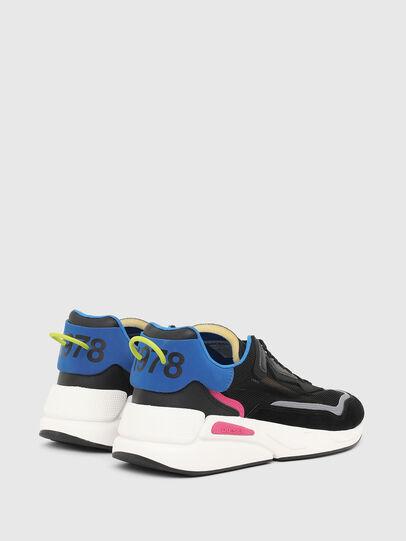 Diesel - S-SERENDIPITY SM, Black/Blue - Sneakers - Image 3