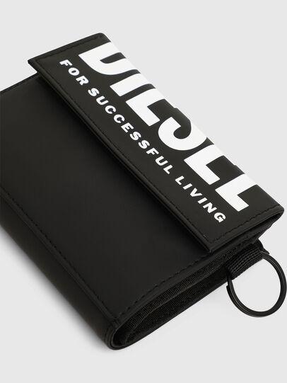Diesel - YOSHI II, Black - Small Wallets - Image 4