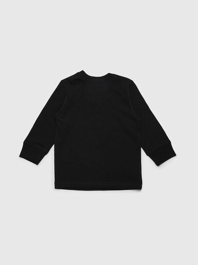 Diesel - TDIEGOYHB-ML, Black - T-shirts and Tops - Image 2