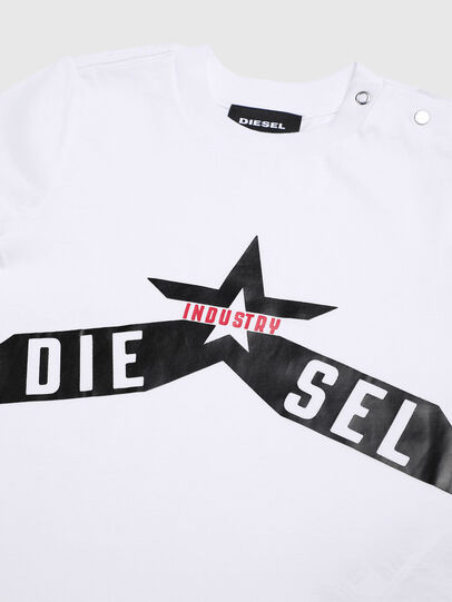 Diesel - TDIEGOA7B, White - T-shirts and Tops - Image 3