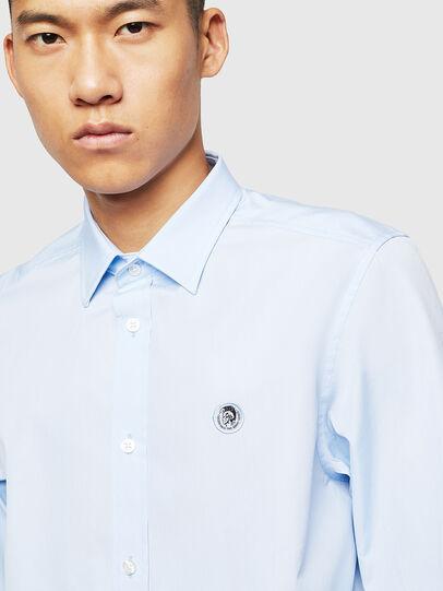 Diesel - S-BILL, Azure - Shirts - Image 3