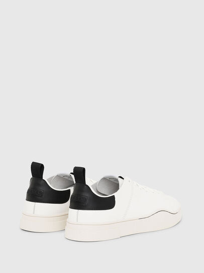 Diesel - S-CLEVER LS, White/Black - Sneakers - Image 3