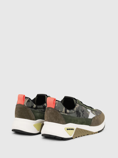 Diesel - S-KB LOW LACE II, Green Camouflage - Sneakers - Image 3