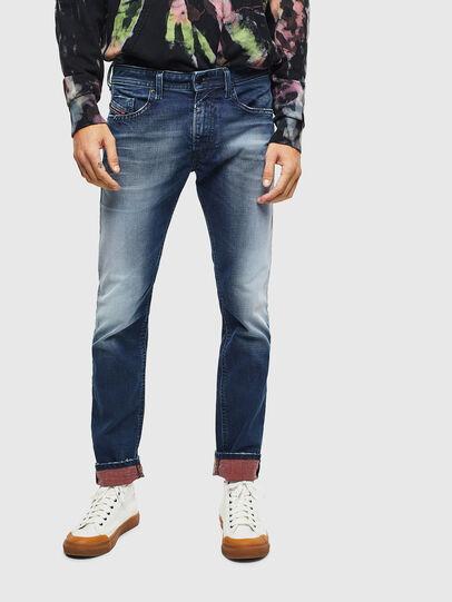 Diesel - Thommer 009BQ, Dark Blue - Jeans - Image 1