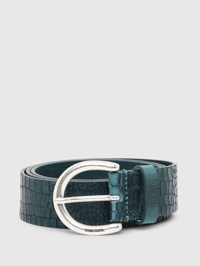 Diesel - B-CRICO, Light Blue - Belts - Image 1