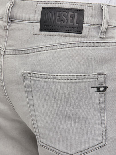 Diesel - D-Strukt 069RE, Light Grey - Jeans - Image 4