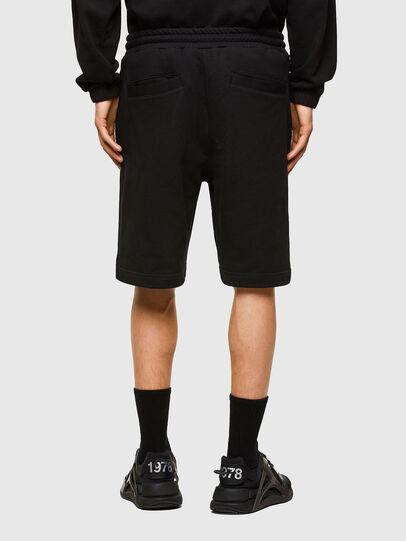 Diesel - P-CROWN-LOGO, Black - Shorts - Image 2