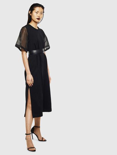 Diesel - D-GOLD, Black - Dresses - Image 8