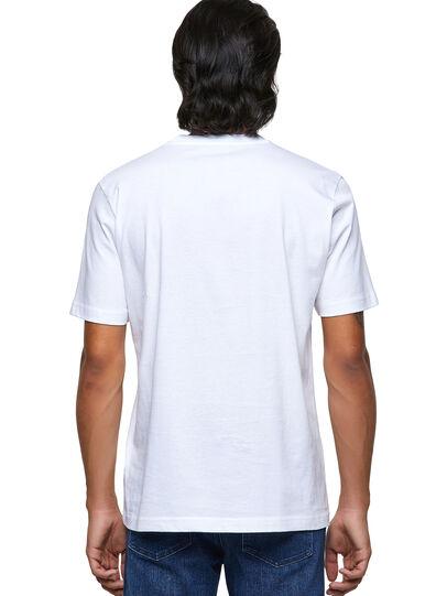 Diesel - T-JUST-B54, White - T-Shirts - Image 2