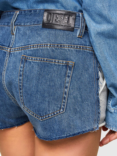 Diesel - S-PAM, Blue/Grey - Shorts - Image 3