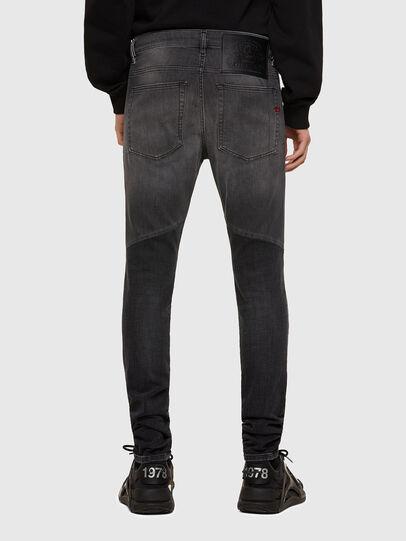 Diesel - D-Amny 009QE, Black/Dark grey - Jeans - Image 2